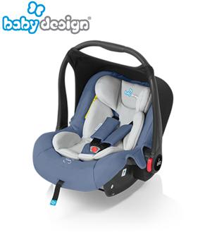 Автокрісла Babydesign